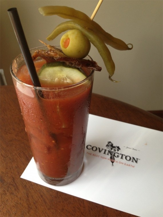 Bloody Mary at King James Public House by Angela Roberts