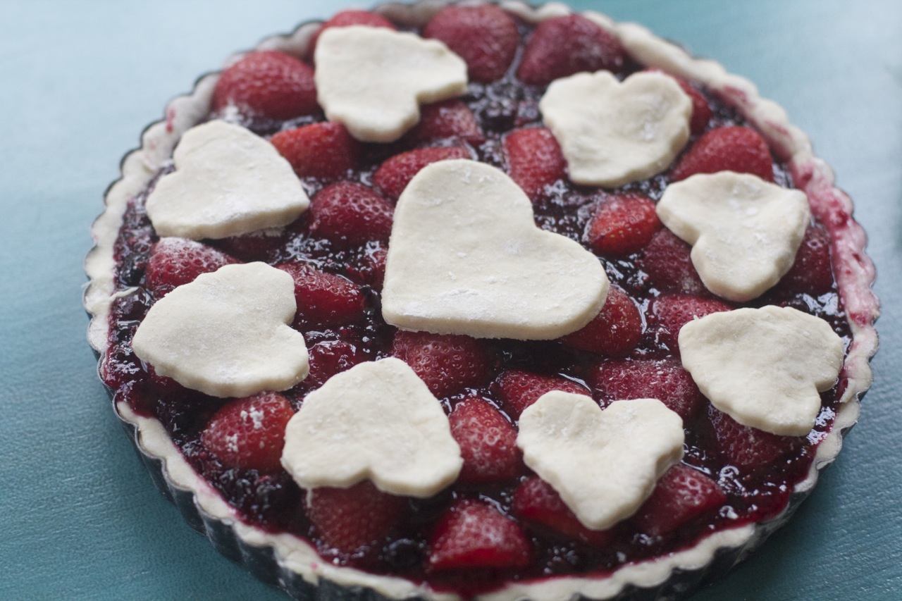 Best Blueberry Strawberry Pie by Angela Roberts