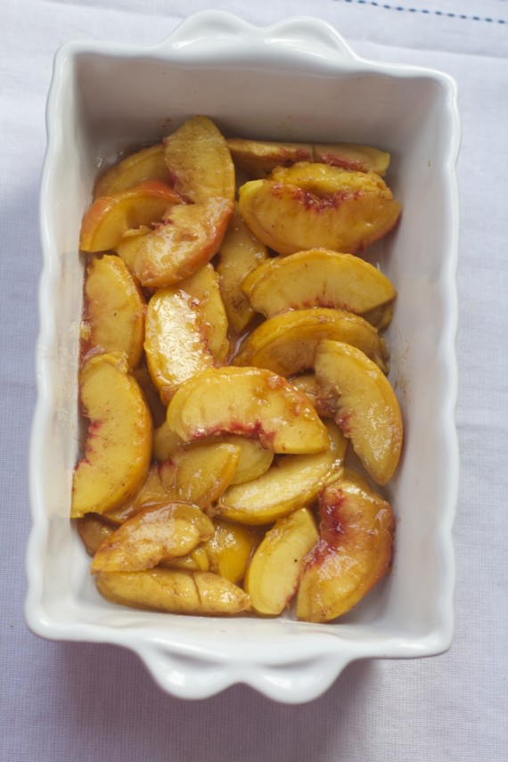 The Best Old Fashioned Peach Cobbler by Angela Roberts