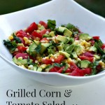 Grilled Corn and Tomato Salad by Angela Roberts