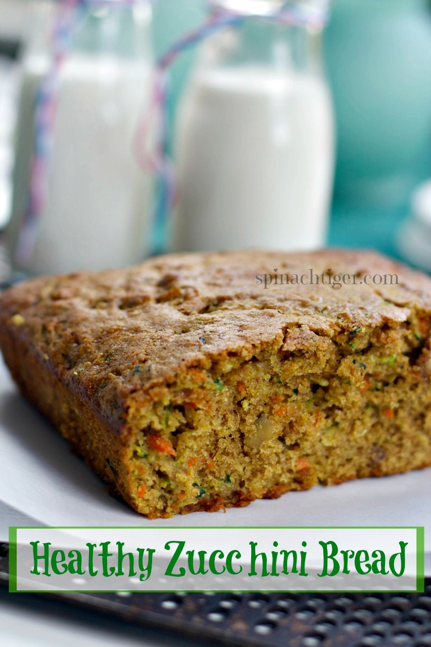 Healthy Zucchini Bread by Angela Roberts