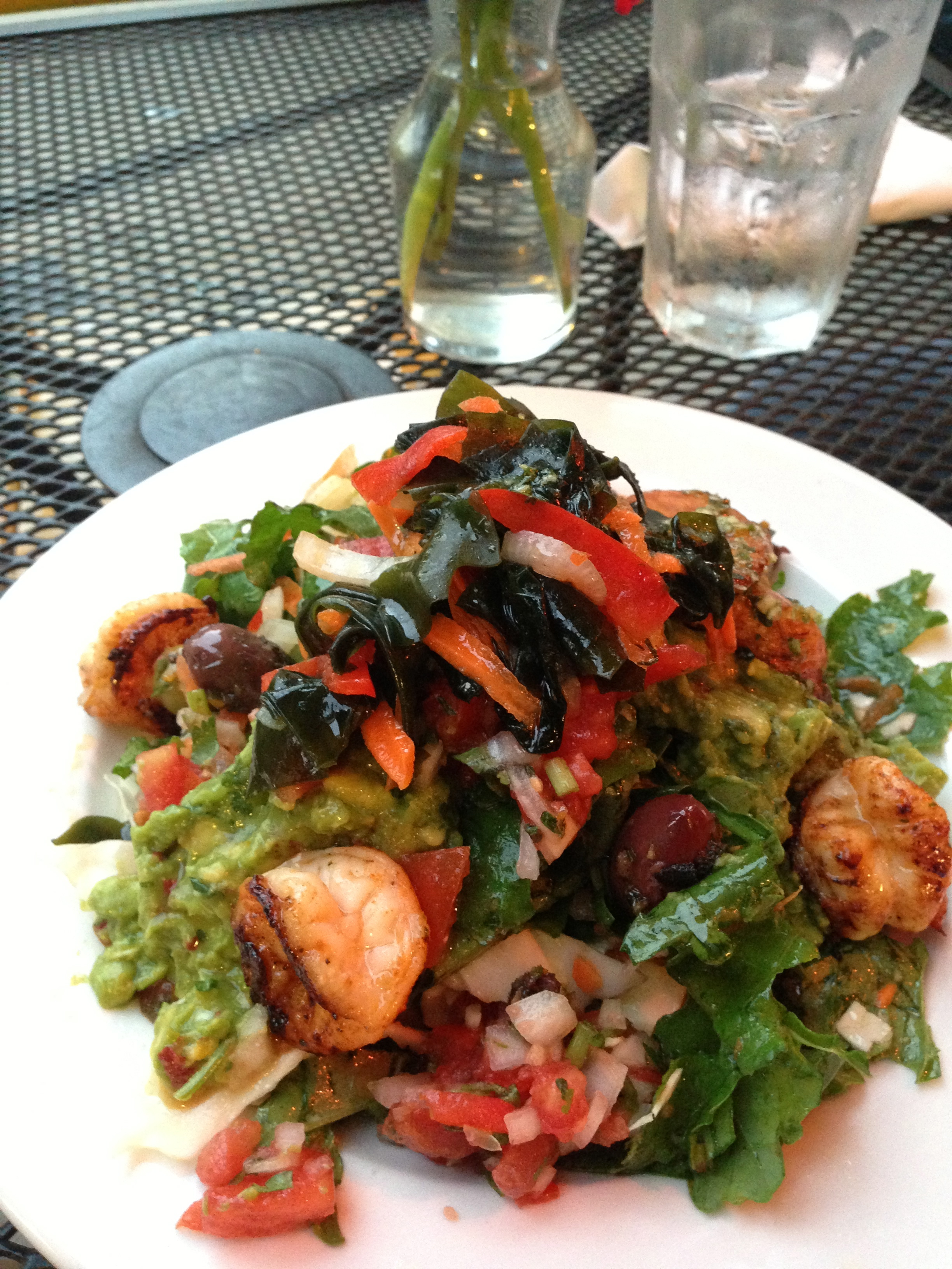 Great Restaurants I Ate at In Asheville by Angela Roberts