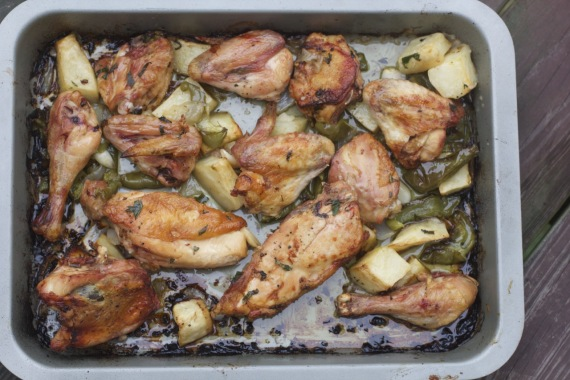 Baked Chicken by Angela Roberts