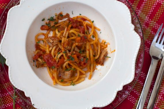 Italian Sauce with Veal, White Wine and Tomato by Angela Roberts