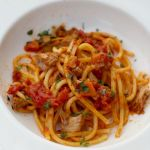 Veal Sauce with White Wine and Tomato by Angela Roberts