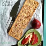 Easy Pear Almond Tart with Shortbread Crust by angela Roberts