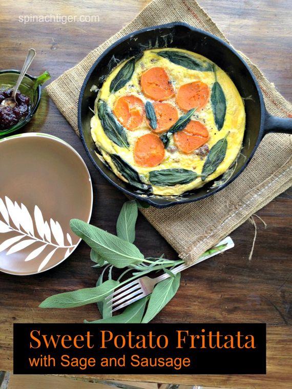 Sweet Potato Breakfast Frittata by Angela Roberts
