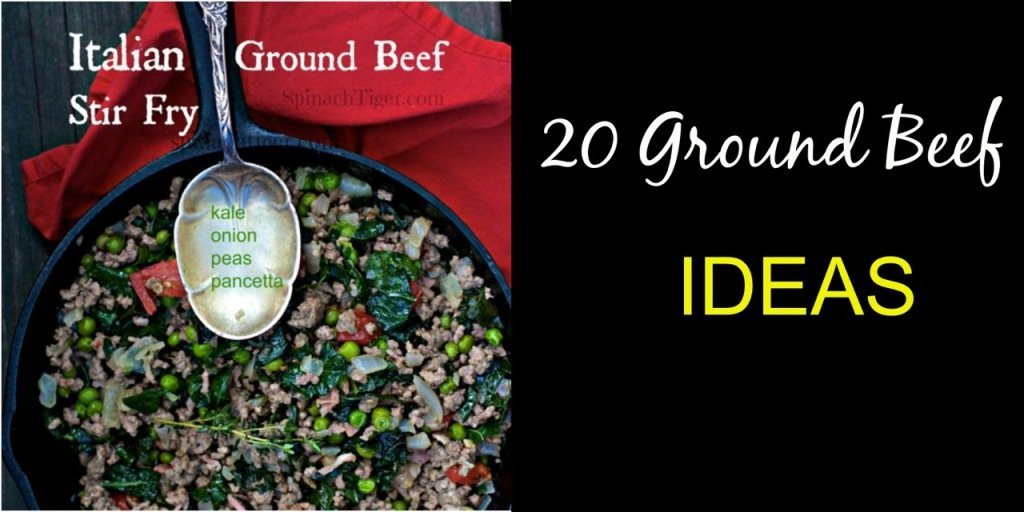 Crack Slaw and 20 ground beef ideas