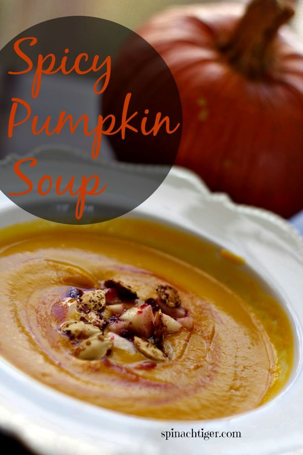 Fresh Roasted Pumpkin soup with Paleo Option by Angela Roberts