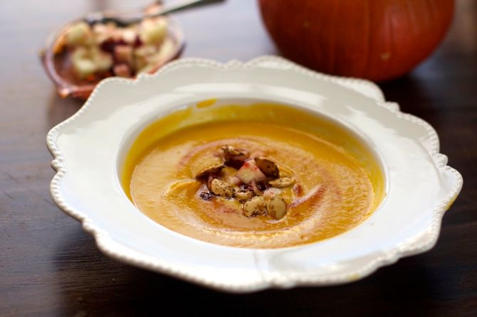 Weight Loss Paleo Soups -Spicy Pumpkin Cream Soup by angela roberts