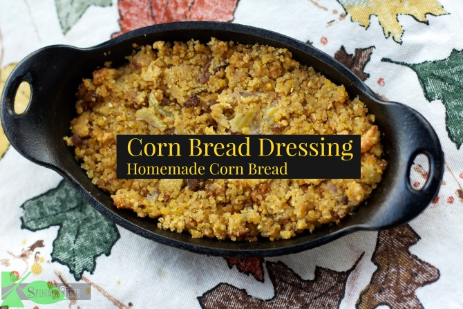 Cornbread Dressing with Homemade Cornbread