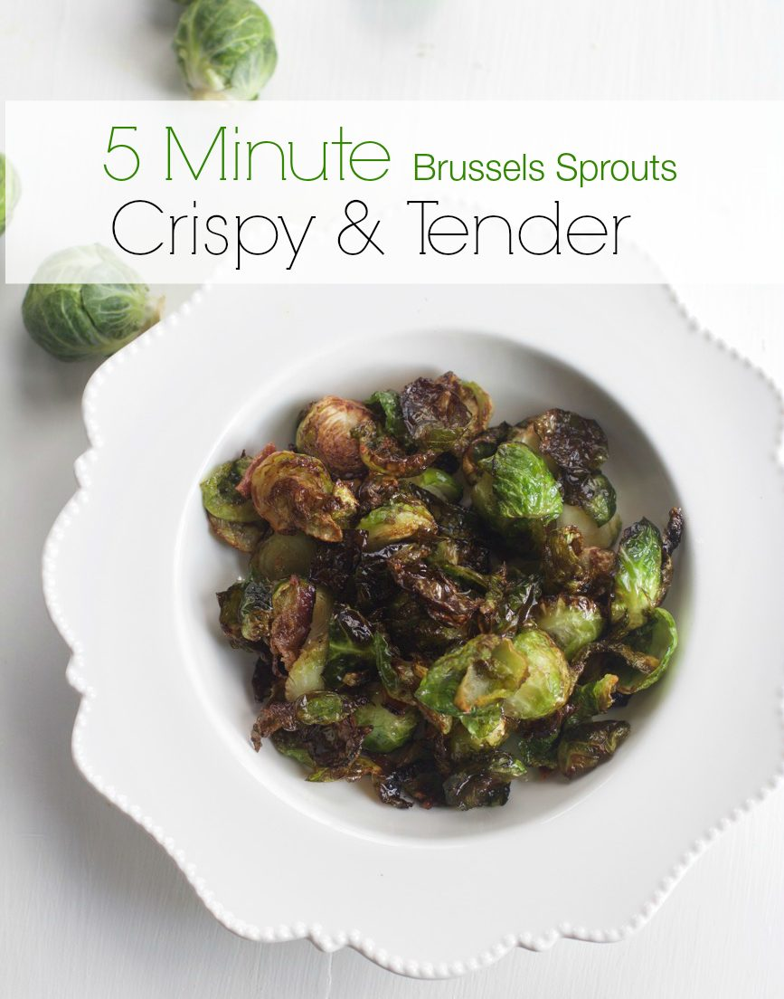 Flash Fried Brussels Sprouts and Holiday Side Dishes from Spinach Tiger