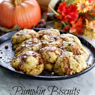 Pumpkin Old Fashioned Buttermilk Biscuits with Video