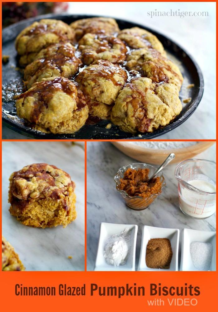Pumpkin Biscuit Recipe with Video