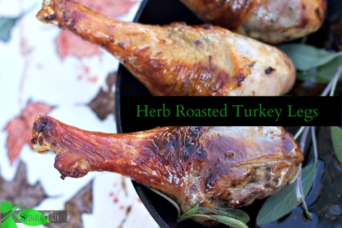 herb roasted turkey legs