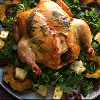 Thanksgiving Roast Chicken, Zuni Cafe Style from Legendary Judy Rodgers