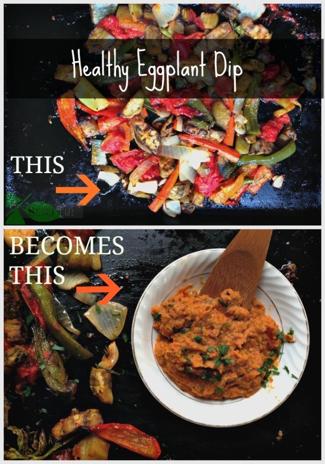 Healthy Eggplant Dip
