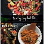 Healthy Eggplant Dip by Angela Roberts