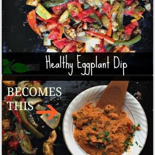 Roasted Eggplant Crostini Recipe
