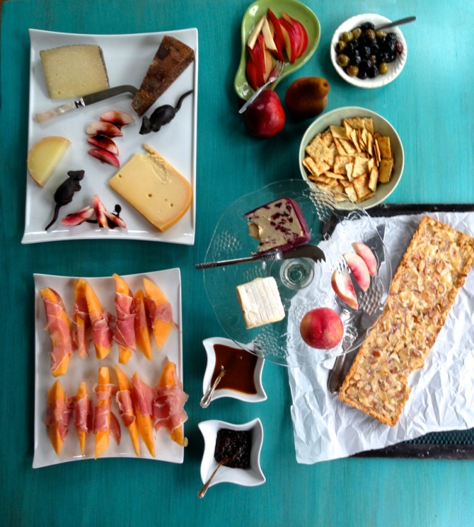How to build a Cheese Plate by angela roberts