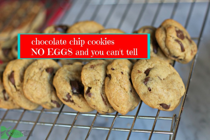 Chocolate Chip Cookies without Eggs by Angela Roberts