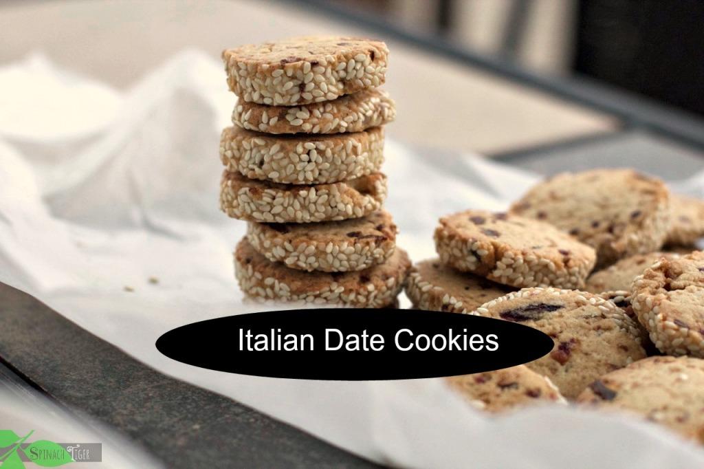 Italian Christmas Cookies: Italian Date Cookies by angela roberts