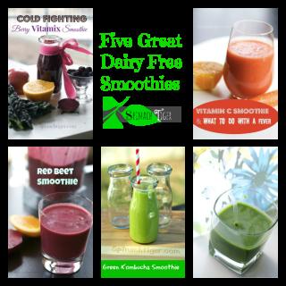 My Favorite Smoothie Recipes without Yogurt