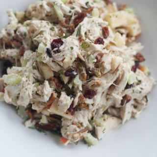 Rosemary Pecan Chicken Salad, Easy Appetizer