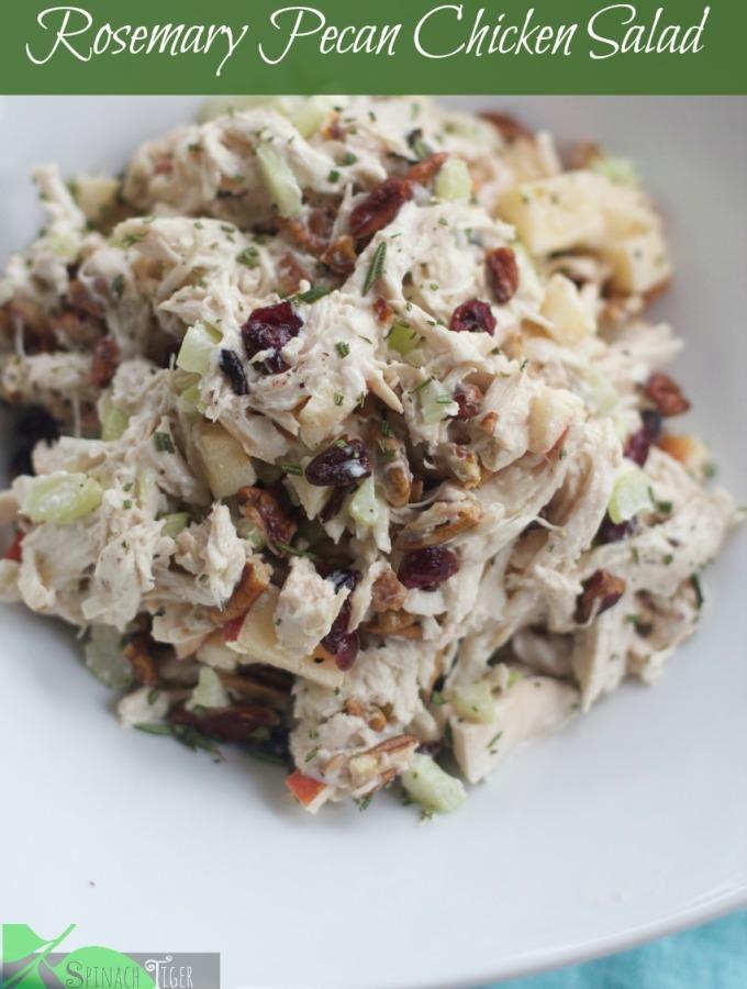 Rosemary Pecan Chicken Salad by Angela Roberts