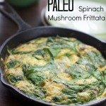 Spinach Frittata Recipe with Mushrooms by angela roberts
