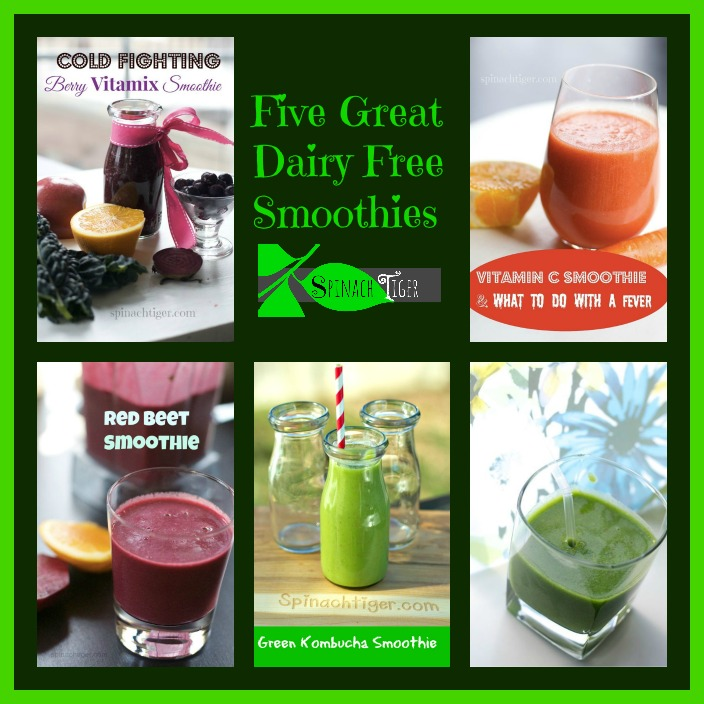 Five Smoothie Recipes without Yogurt by Angela Roberts