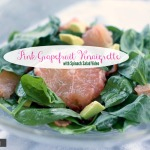 Spinach Salad with Grapefruit Vinaigrette by angela roberts