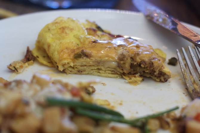 Omelet at Saint Anejo Brunch by angela roberts