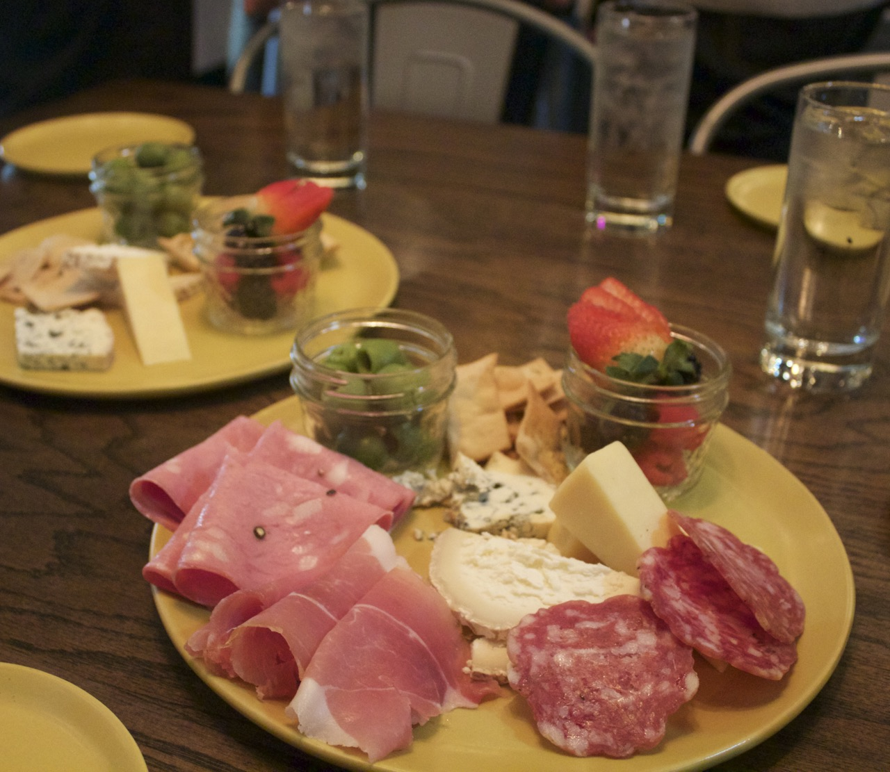 Charcuterie at Goozy by Angela Roberts