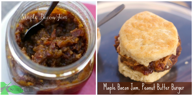Bacon Jam Recipe and Bacon Jam Peanut Butter Burger