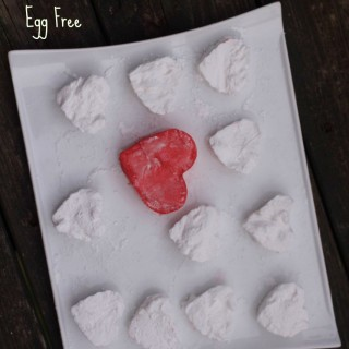 Heart Shaped Homemade Marshmallows (Egg Free)