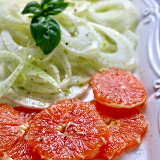 Cara Cara Orange Fennel Salad