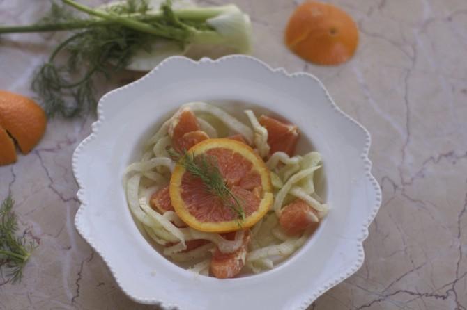cara cara fennel Salad by Angela Roberts