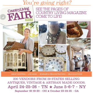 Country Living Fair Coming to Nashville