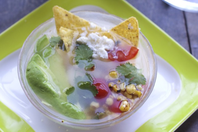 Tortilla soup by angela roberts
