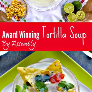 Spicy Tortilla Soup Inspired by Mas Tacos Por Favor