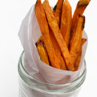 Healthy Sweet Potato Fries, Baked