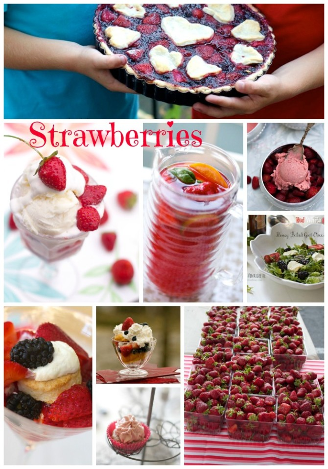 Favorite Fresh Strawberry Dessert Recipes by Angela Roberts