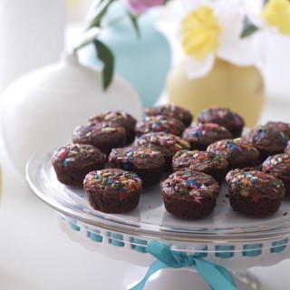 Easy Homemade Brownie Bites Made with Cocoa