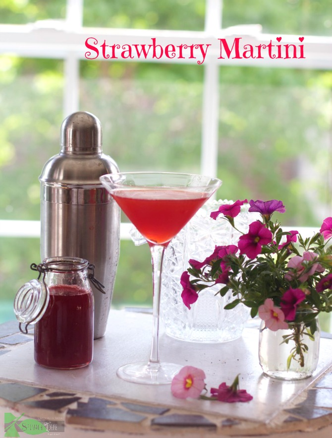 Strawberry Martini Recipe by Angela Roberts