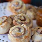 Orange Cinnamon Roll Biscuits in under 30 Minutes