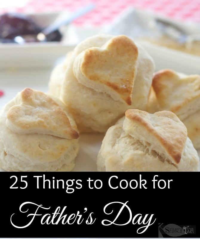 25 things to cook for Father's Day