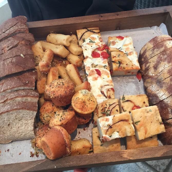 Bread Basket at Trattoria Il Mulino