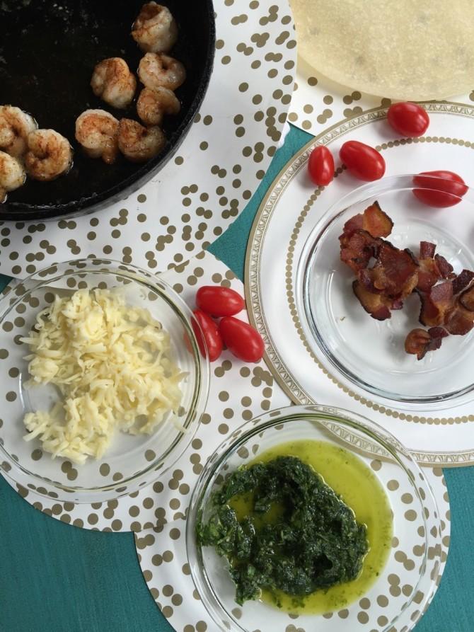 Spicy Shrimp Quiche