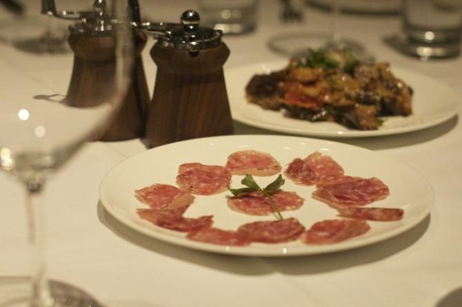 Appetizer at Trattoria El Mulino